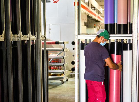 Processo di produzione flexible packaging 1