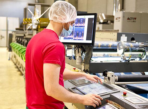 Processo di produzione flexible packaging 6