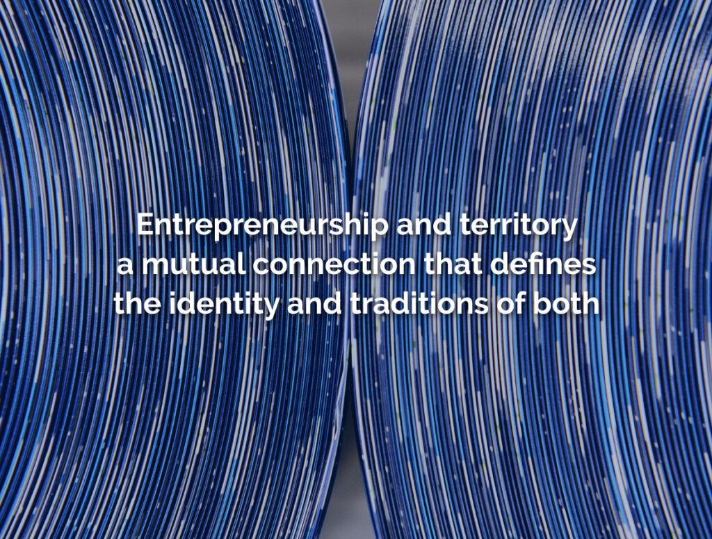 Entrepreneurship and territory: a heroic story