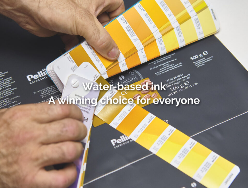 Water-based ink.A winning choice for everyone