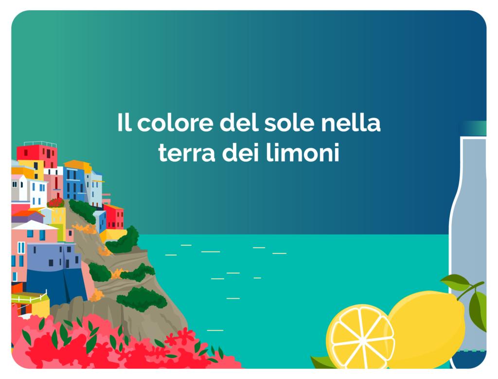 Il colore del sole nella terra dei limoni