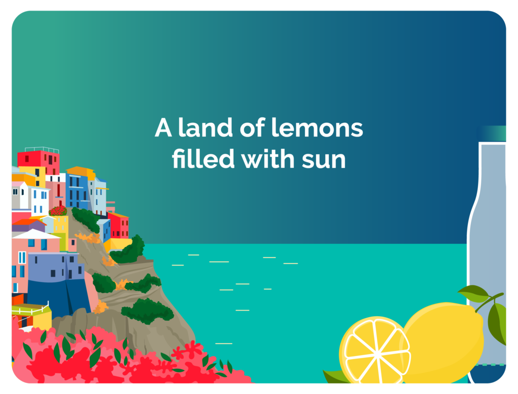 A land of lemons filled with sun