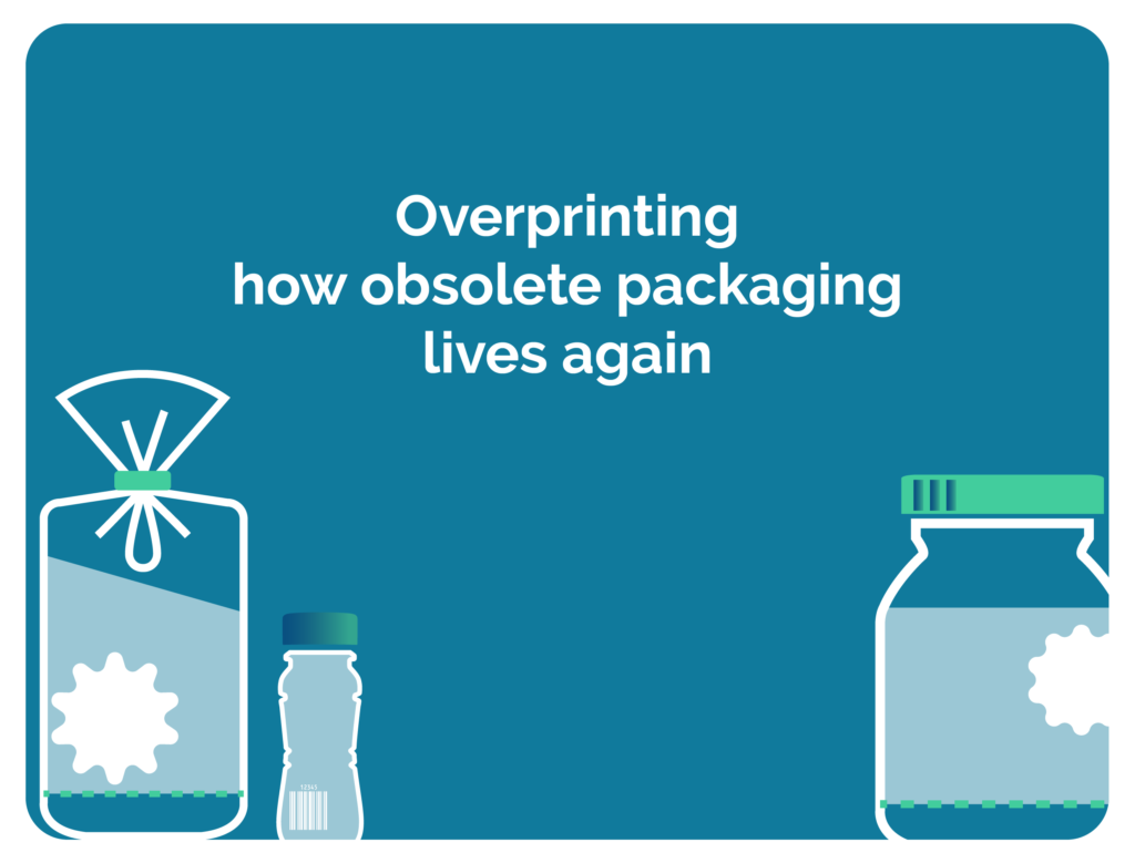 Overprinting: how obsolete packaging lives again