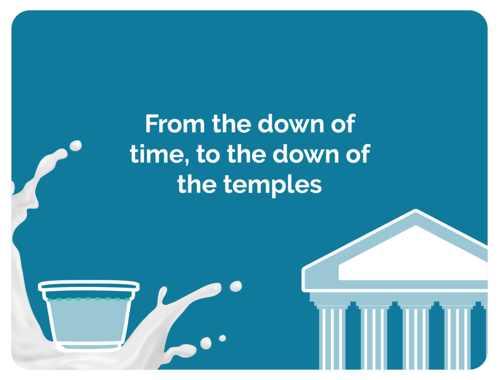 From the dawn of time, to the dawn of the temples